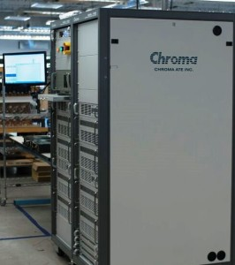 Chroma 17020 Regenerative Battery Pack Test System