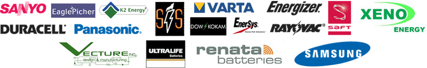 Aved battery pack partner logos