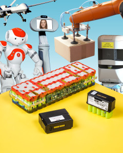 Battery packs for robotics and mobility devices