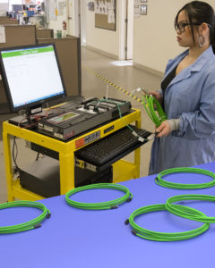 MEDICAL CABLE ASSEMBLIES FEATURE 100% TESTING AND DATA RECORDS