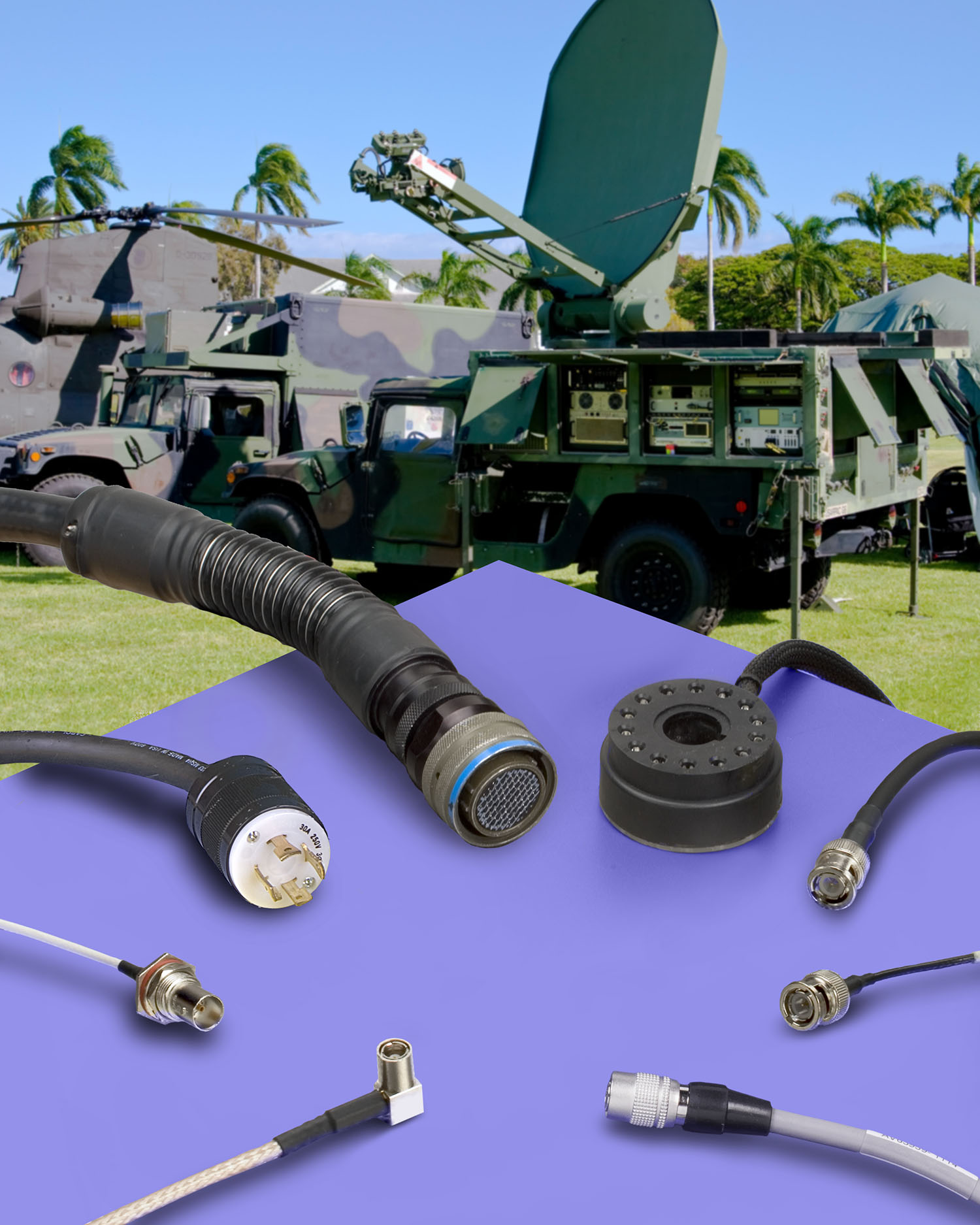 Wiring Harness Cable Assemblies For Aircraft Military More